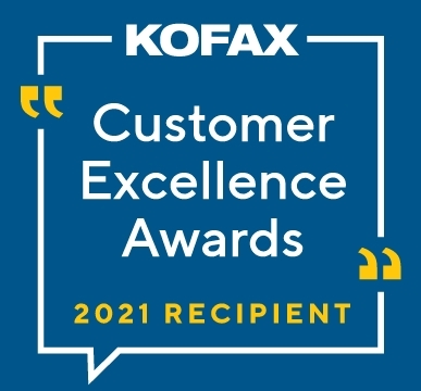 Kofax 2021 Customer Excellence Awards for Digital Workflow Transformation (Graphic: Business Wire)