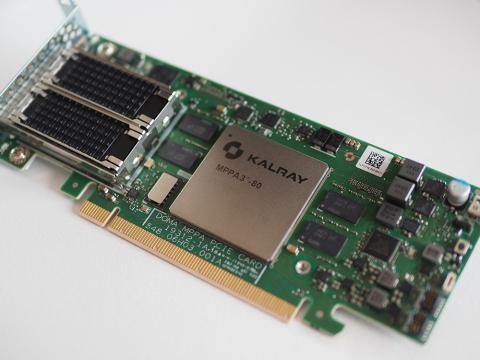 Kalray's K200-LP Acceleration Card (Photo: Kalray)