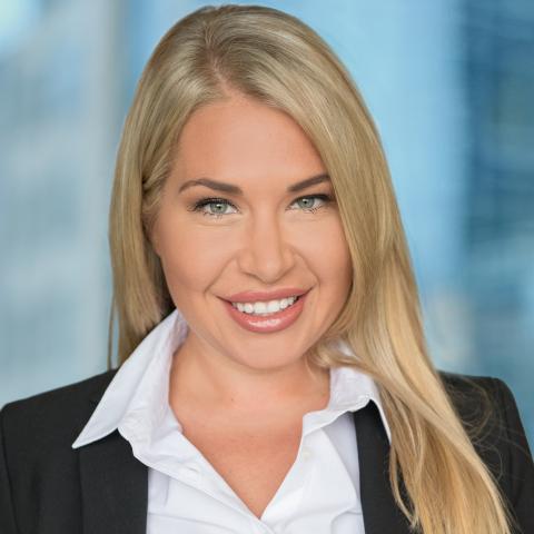 Galina Meleger, Recipient of CIRI's 2021 Award for Leadership (Photo: Business Wire)