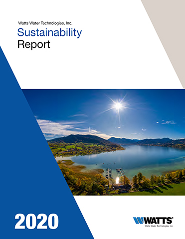 Watts publishes its 2020 Sustainability Report.