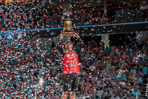 Garmin is proud to be the electronics choice of champions as Garmin pro Hank Cherry Jr. claimed his second victory in a row at the Academy Sports + Outdoors Bassmaster Classic presented by Huk at Lake Ray Roberts, June 11-13.