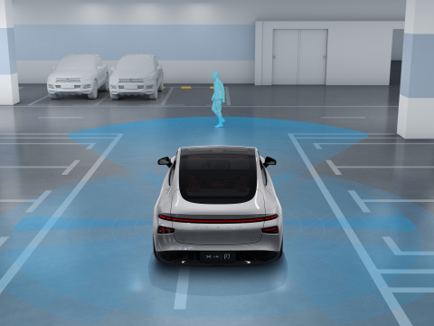 XPeng Valet Parking Assist (Photo: Business Wire)