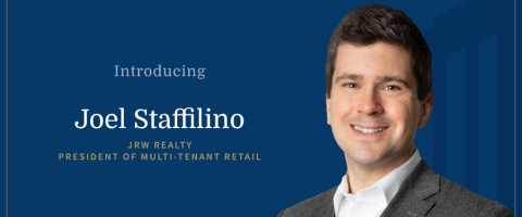 JRW Realty's New President of Multi-Tenant Retail (Graphic: Business Wire)