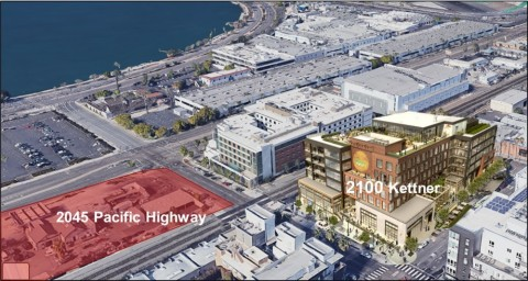 2045 Pacific Highway and 2100 Kettner (Photo: Business Wire)
