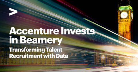 Accenture Invests in Beamery (Graphic: Business Wire)
