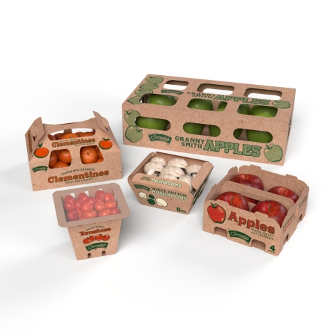 WestRock Company has announced an expansion of its produce packaging offerings with the launch of its EverGrow™ Collection. The collection offers innovative alternatives to single-use plastic packaging for produce from snacking tomatoes to apples. (Photo: Business Wire)