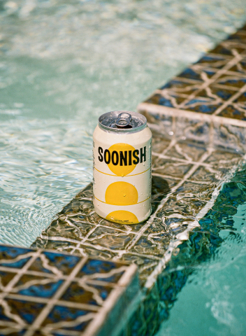 Soonish Natural Beer | Gluten-Free | 4.2% ABV | 110 Calories (Photo: Business Wire)