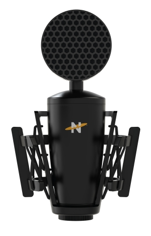 The Neat King Bee II XLR microphone launches summer 2021 for a MSRP of $169.99, and includes the Beekeeper Shockmount and Honeycomb Pop Filter for unmatched high-quality recordings. (Photo: Business Wire)