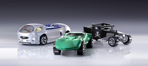 """Mattel, Inc. announced today that Mattel Creations, the company's collaboration and direct-to-consumer platform, is further evolving its toys as art collection to include a Non-Fungible Token (""""NFT"""") series from the super-charged Hot Wheels brand featuring the Twin Mill®, Bone Shaker® and Deora® II. (Graphic: Business Wire)"""