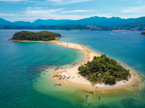 Sai Kung is a popular kayak and snorkel destination (Photo: Business Wire)