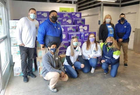 NWFCU Foundation and Northwest Federal Employees Deliver Diapers (Photo: Business Wire)