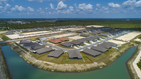 The Titus Park community in Bay County, Florida. (Photo: Business Wire)