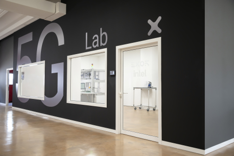 The 5G Lab at EXOR's smart factory in Verona, Italy. (Credit: EXOR)