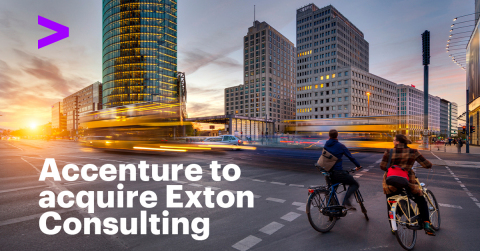 Accenture to acquire Exton Consulting (Photo: Business Wire)