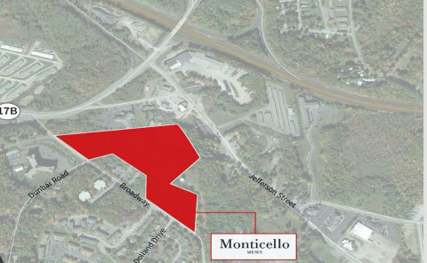 Proposed site of Monticello Mews (Photo: Business Wire)