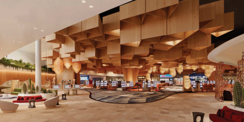Virgin Hotels Las Vegas, Curio Collection by Hilton – Lobby (Photo: Business Wire)