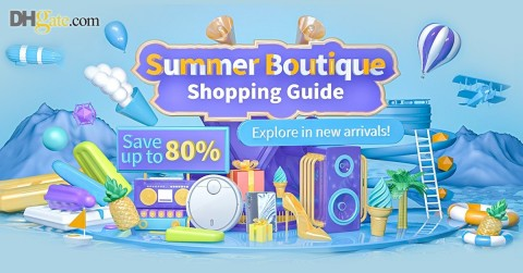 DHgate Launches New Summer Sale on June 22 (Graphic: Business Wire)