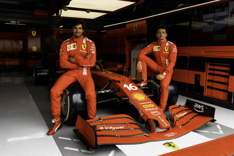 Ferrari Selects AWS as its Official Cloud Provider to Power Innovation on the Road and Track. (Photo: Business Wire)