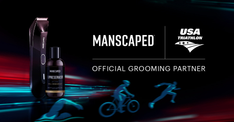 MANSCAPED is excited to support the insanely impressive members of the USA Triathlon team as they return to the world stage this summer. (credit Manscaped)