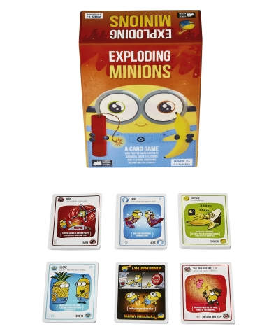 Exploding Minions by the team behind Exploding Kittens (Photo: Business Wire)