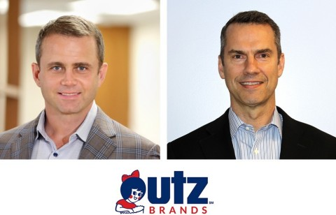 Utz Brands, Inc. announces Executive Leadership Team changes for Shane Chambers (left), and Mark Schreiber (right) Source: Utz Brands, Inc.