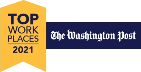 FireEye ranks in the top 20 Top Workplaces among greater Washington, D.C.-area companies listing due to employee feedback. (Graphic: Business Wire)