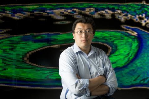 "Image of Vanderbilt University Assistant Professor of Biomedical Engineering Yuankai ""Kenny"" Tao, the first recipient of the SPIE Faculty Fellowship in Optics and Photonics. (Photo credit: Vanderbilt University)"