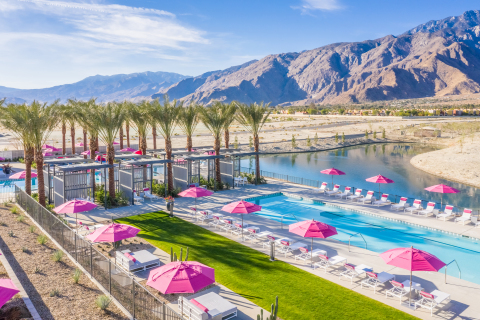 Miralon Palm Springs is a 309-acre modern agrihood offering 1,150 residences amid working olive and citrus groves, community gardens and walking trails. (Photo: Business Wire)