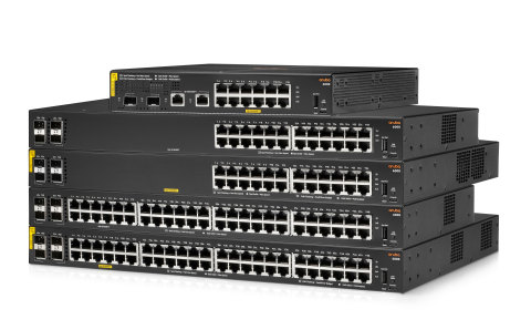 The new Aruba CX 6000 series is a cost-effective, layer 2 solution purpose-built for remote offices and the SMB market. (Photo: Business Wire)