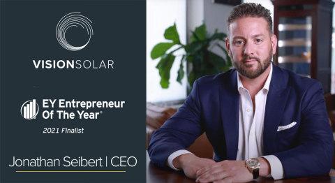 Jon Seibert, CEO, Vision Solar
