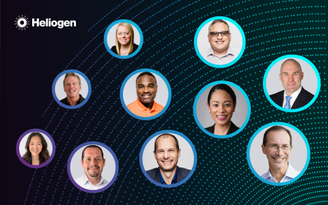 Heliogen's Leadership Team (Photo: Business Wire)