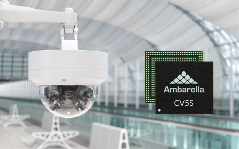 Ambarella announces the CV5S and CV52S edge AI vision SoC families for next-generation multi-imager and single-imager video security, smart city, smart building, smart retail and smart traffic AIoT camera applications. (Photo: Business Wire)