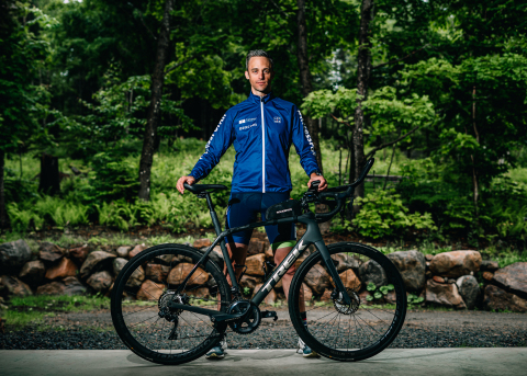 Endurance Athlete Sébastien Sasseville to ride across Canada in support of JDRF's #AccessforAll campaign (Photo: Business Wire)