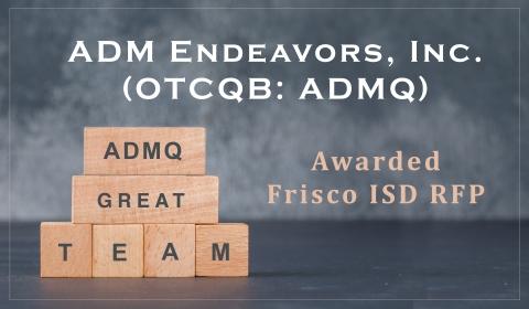 ADMQ Awarded Frisco ISD RFP (Photo: Business Wire)