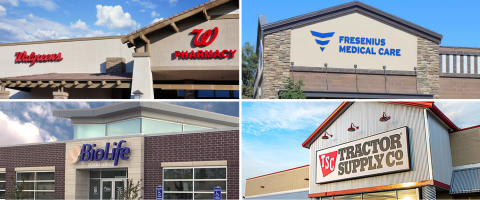 Tenants of ExchangeRight's Fully Subscribed Net-Leased Portfolio 45 DST Offering (Photo: Business Wire)