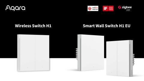 Aqara Smart Wall Switch H1 EU and Aqara Wireless Switch H1 (Photo: Aqara)