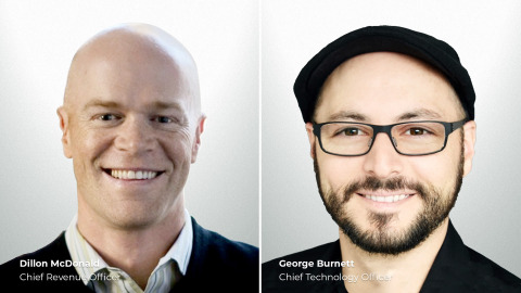 Dillon McDonald, Chief Revenue Officer; George Burnett, Chief Technology Officer (Photo: Business Wire)