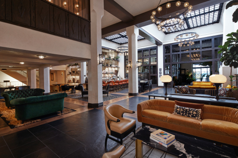 Lobby at Hotel Figueroa. (Photo: Business Wire)