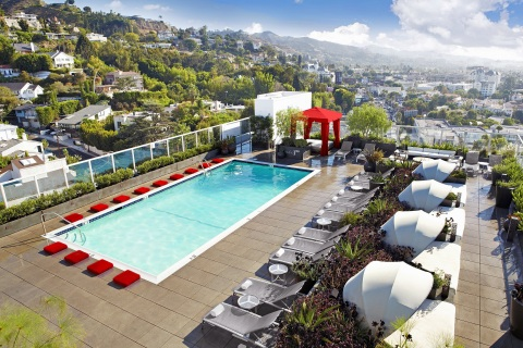 Andaz West Hollywood will offer a GROOV3 Dance Fit class and Pride Comedy night followed by after parties. (Photo: Business Wire)