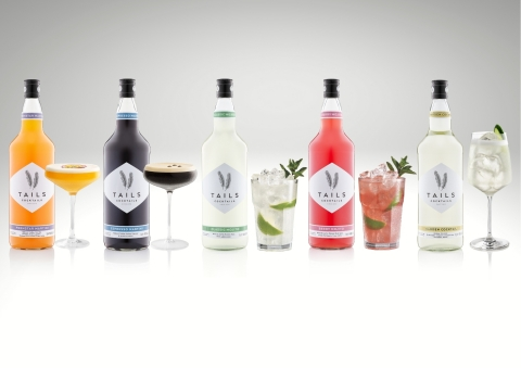 TAILS, the premium batched cocktail brand, acquired by family-owned Bacardi in November, is delivering 10,000 sample kits to newly reopened on-trade outlets across Europe as part of an initiative to highlight how anyone, in any type of bar or restaurant, can serve quality cocktails easily, quickly, consistently and at scale – and at the same time generate a welcome new revenue stream. (Photo: Business Wire)