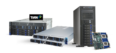 TYAN's AI and HPC Server Platforms Built Upon AMD EPYC 7003 Series Processors and 3rd Intel Xeon Scalable Processors to Deliver Performance for Data Centers (Photo: Business Wire)