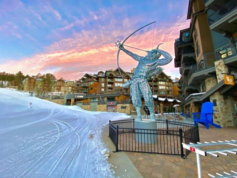 Artistic Category Winning Project: Ullr Breck Sculpture- Breckenridge, Colorado, USA (Photo: Business Wire)