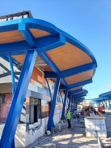 Duplex Coating Category Winning Project: Lauderhill Mall Transit Center- Lauderhill, Florida, USA (Photo: Business Wire)