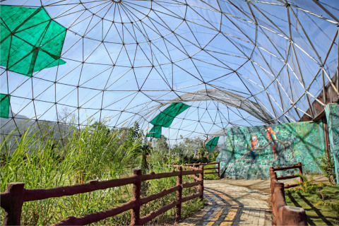 International Category Winning Project: Exotic Aviary Geodesic Dome- Kevadia, Gujarat, India (Photo: Business Wire)