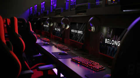 Belong Gaming Arenas will bring its experiential gaming centers to the United States starting this summer. (Photo: Business Wire)
