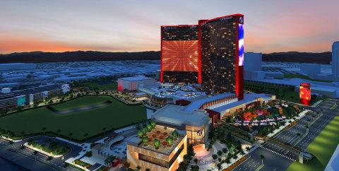 Resorts World Las Vegas – 外觀(照片:美國商業資訊)
