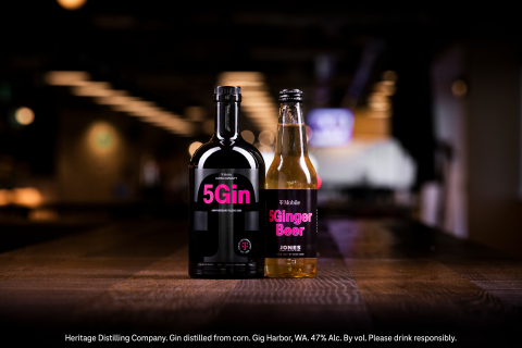 T-Mobile 5Gin and 5Ginger Beer (Photo: Business Wire)