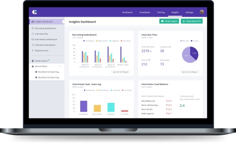 Smart reporting in GoodTime helps the world's top talent acquisition teams slash time-to-hire metrics and deliver up to 50% savings on hiring expenditure. (Photo: Business Wire)