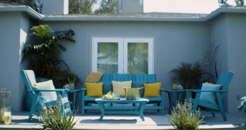 Fiberon Furniture by Breezesta, a curated collection of premium, sustainable outdoor furniture, is hand selected to complement your outdoor living space. (Photo: Business Wire)