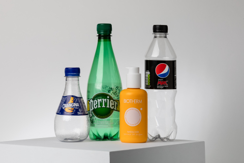 Closing the loop for recycling PET plastic. Photo credit: Jérôme Pallé  (Photo: Business Wire)